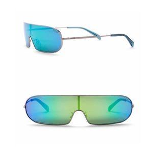 Stunning Emilio Pucci Shield Sunglasses New